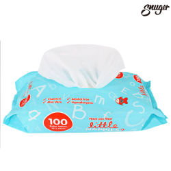 L'ODM/OEM tissu non tissé spunlace 40GSM Lingettes humides pour les enfants