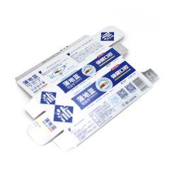 ورق بطاقات معجون الأسنان صندوق التغليف والطباعة