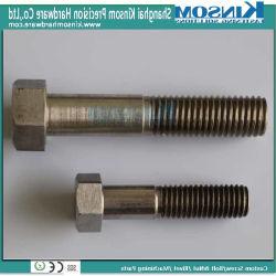 El tornillo hexagonal de acero inoxidable 304 con rosca parcial sujetadores personalizado