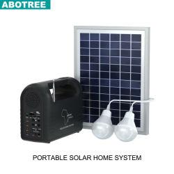 Portátil ligero linterna solar LED lámpara con cargador de teléfono móvil para el Camping