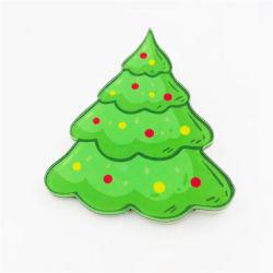 La promotion des ventes de Noël Décoration de l'Arbre Vert Épinglette