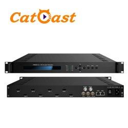 8 in 1 HDMI eingegeben mit Kodierer-Modulator der HF-2*DVB-C/2*DVB-T Ausgabe-HD 1080P