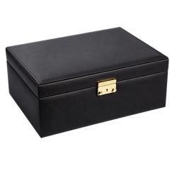 Eleganter Luxuxarbeitsweg-gesetzter kundenspezifischer Schmucksache-Kasten mit Minikasten