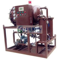 Purificador de óleo do separador de coalescência para tratamento de limpeza de combustível