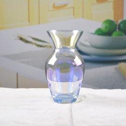 Hauptdekoration-transparenter Kristallglas-Vase