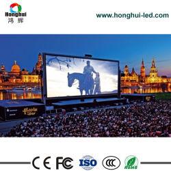 Quadro comandi esterno locativo del LED di HD P6 per la pubblicità della parete del video della fase