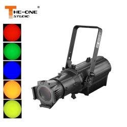 Indicatore luminoso fisso di alluminio di profilo dell'obiettivo dell'alloggiamento LED