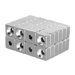 Magnete potente del neodimio del rivestimento del Ni di uso industriale e domestico svasato