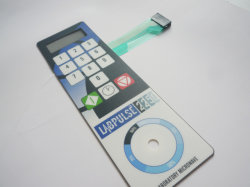 Купол тиснение на ощупь ключи с майларовой Polydome мембранного переключателя цепи питания инвертора
