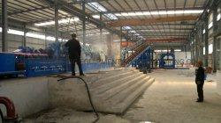 La laminación en caliente la varilla de cobre a la rodadura y de colada continua de la línea de producción