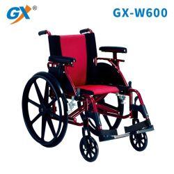 無効および高齢者(GX-W600)のためのアルミニウム手動車椅子