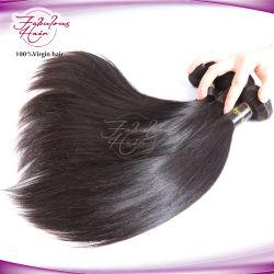 Дешевые оптовые естественного цвета Virgin Индийского Реми прямой Weft волос