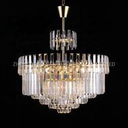 軽い水晶吊り下げ式の照明設備のシャンデリアをハングさせる新製品LED