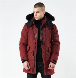Personalizar chaqueta impermeable de plumón de invierno para hombre al aire libre