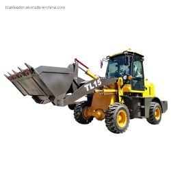 Zl15f Lader van het Wiel van het Landbouwbedrijf van de Tractor van het VoorEind van 1.5 Ton de Mini Kleine Gearticuleerde Hydraulische