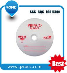 Disco di stampa bianco da 700 MB a strato singolo, DVD-R 16X