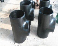 Soudure en acier au carbone sans soudure sch40 l'égalité de raccord en T de tuyau