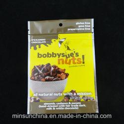 Fastfood- Reißverschluss-Plastikbeutel für trockene Frucht-Nahrungsmittelverpackung
