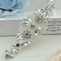 La mode à Perles Rhinestone applique Fer sur Applique Accessoires bijoux de mariage