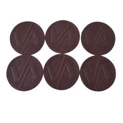 El logotipo de la estampación de forma personalizada en Carhartt parche de cuero de coser