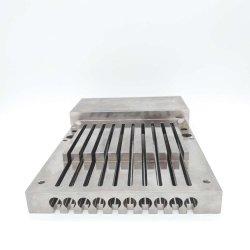 Hohe Präzisions-Aluminiummaschinell bearbeitenplatte für medizinische Ausrüstung