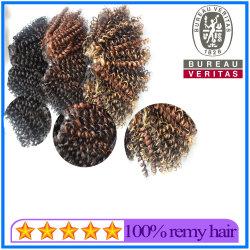 Fornecedor grossista Mix-Color Onda profunda trama de cabelo de extensão de cabelo
