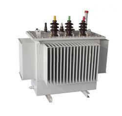 -L'huile de refroidissement en trois phases de distribution--immergé transformateur de distribution de puissance