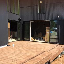 Piscina populares WPC Deck Material de construção WPC Flooring