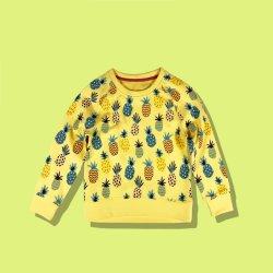 간단한 파인애플 계약 색깔 아이들 형식 상단 아이 아기 착용 옷
