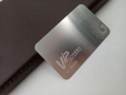 Cepillo de lujo para Tarjetas PVC hilo metálico Efecto de dibujo de Tarjetas de visita con diseño libre