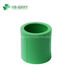 Raccords de tuyaux en plastique pour le froid de couplage de PPR, approvisionnement en eau chaude