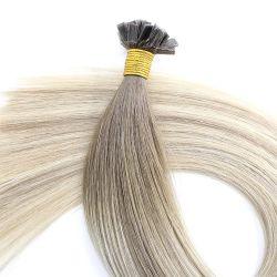A basculé de la kératine des cheveux humains Extension pour le Salon de haute qualité