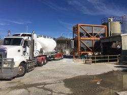 Máquina de Construção 50t Silo de cimento para a fábrica de mistura de betão