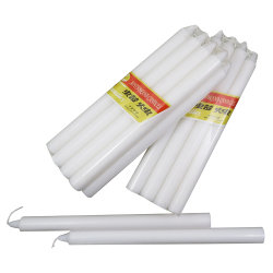 OEM-комплект дешевые восковой свечи белые свечи для домашних хозяйств