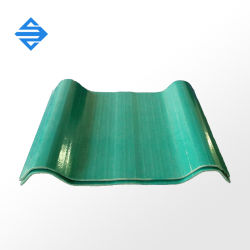 2,2Mm 2.5mm 3.0mm PRF Feuille de toit ondulé de corrosion en fibre de verre