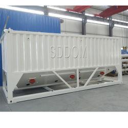 Free Foundation Portable de cemento de la tolva tanque de cemento Bin silo para almacenamiento de cemento