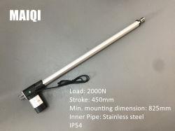 Aangepaste Elektrische Lineaire Actuator van het Roestvrij staal IP54