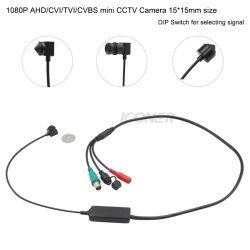Китай питания размером 15*15мм HD1080p Ahd/Tvi/CVI/CVBS наблюдения скрытые проколом безопасности мини-камеры видеонаблюдения для систем видеонаблюдения банкоматов Банка