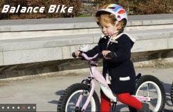 Прелестная дети баланс велосипед детей работает прокат велосипедов No-Pedal малыша баланса цикл Эргономичные рукоятки