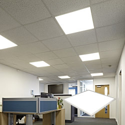 Алюминиевый квадрат 60X60 светодиодные потолочные панели для дома или офиса
