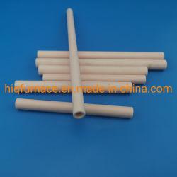 99.7% Tubo di ceramica del tubo dell'allumina di ceramica del tubo 99.7% del corindone, tubo di ceramica 99 Al2O3 del corindone utilizzato per il forno a camera