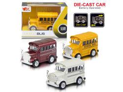 Zurück Legierungs-Schulbus ziehen sterben Form-Auto (H1851054)