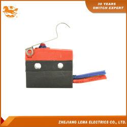 Lema Kw12f-5EJ resistente al agua IP67 Micro interruptor de palanca larga expulsadas