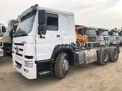 Отличное состояние китайской популярной торговой марки 2015 модель 10 Уилер 50 тонн Sinotruck HOWO 6X4 используется трактор погрузчик для продаж за счет владельца