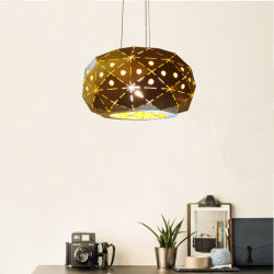 Tan popular en el interior de latón de Metal industrial cocina/ iluminación colgante lámpara colgante