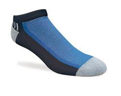 Os homens de desportos de algodão meias Lowcut Estilo com metade do Assento (MFC-041)