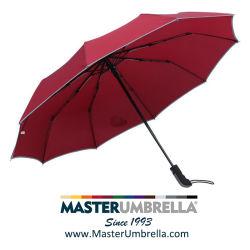 Trois fois de haute qualité cadeau de promotion automatique des parasols pour la publicité (TKET-1031)