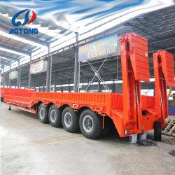 3-5 degli assi 50-80tons della base rimorchio basso allungabile del camion semi