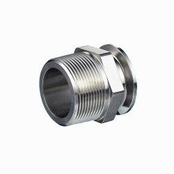 Custom Chrome en acier inoxydable en aluminium anodisé pièces CNC Placage autocatalytique au nickel