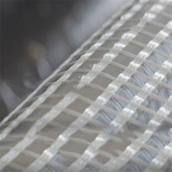 Geotextileが付いている道の補強の混合物のガラス繊維の網